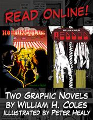 Graphic novels: Homunculus and Reddog